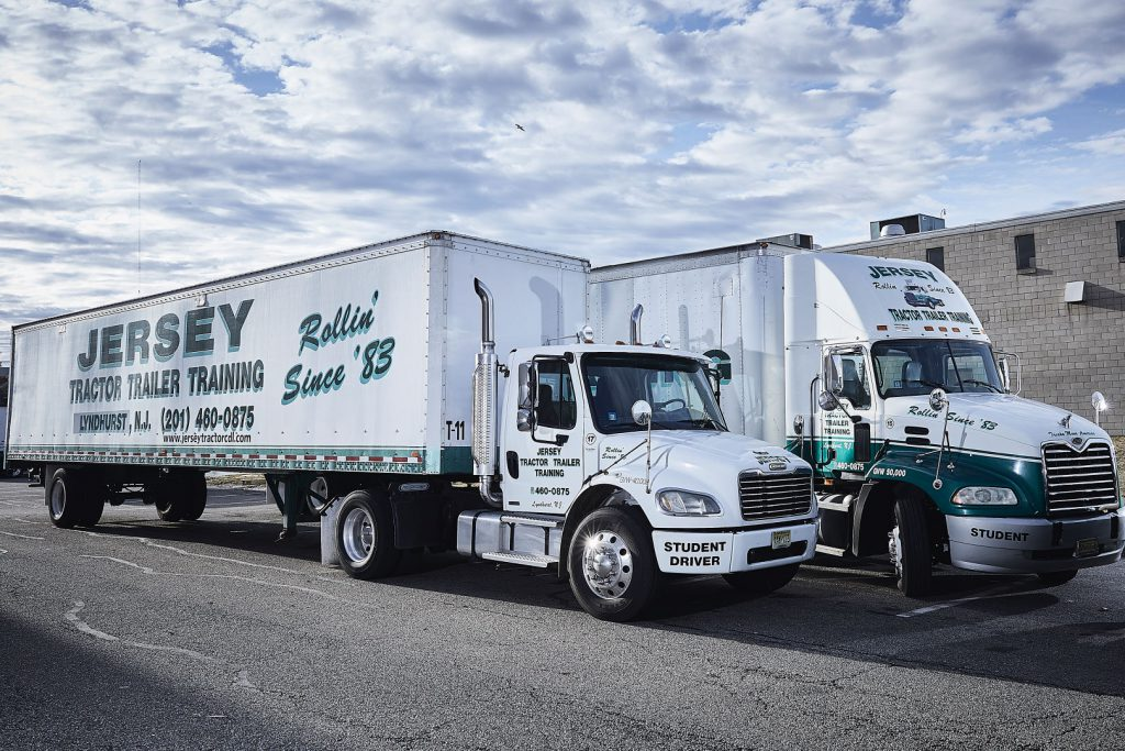 Jersey Tractor Trailer Training Trucks 1